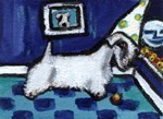 Sealyham Whimsical art!