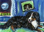 BERNESE MOUNTAIN DOG Art!
