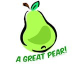 A Great Pear - cheeky shirts for girls