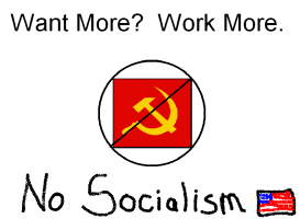 Want More?  Work More.