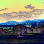 Fantastic Landscape AUSTRIA,blue effect