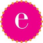 e monogram, pink
