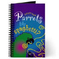 Parrot notebooks!