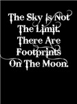 The sky is not the limit ... (wht) Aparrel