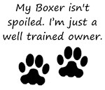 Well Trained Boxer Owner