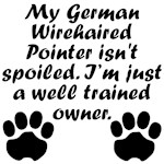 Well Trained German Wirehaired Pointer Owner