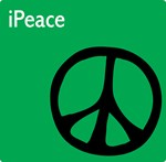 Green iPeace Sign