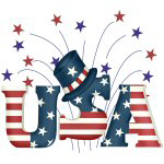 USA Fireworks T-shirts and Gifts