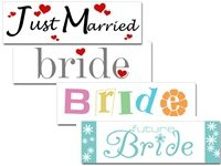 Wedding Bumper Stickers