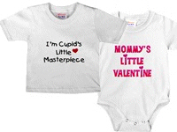Kids and Babies Valentine's Day Tshirts