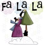 Fa La La Holiday T-shirts and Gifts