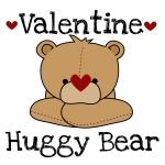 Valentine Huggy Bear Tshirts and Gifts