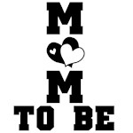 Hearts Mom to Be Tshirts and Gifts