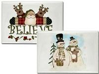 Christmas Holiday Magnets