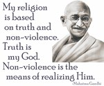 Gandhi quote - Truth is my God