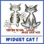 Silly Cat Widget