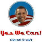 Yes We Can 8 Bit Obama