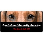 Dachshund Security Service