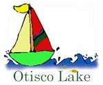 Otisco Lake sailboat...