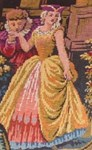 Rococo Couple In Tapestry
