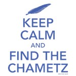 Keep Calm and Find the Chametz