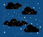 Starry Night - Blue