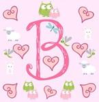 Pinky Initials - B