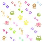 Zoo Animals - Pink