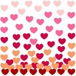 Heart Drops -pink