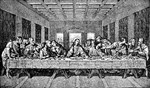Last Supper Etching