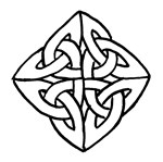Celtic Knotwork Diamond