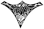 Zoomorphic Celtic Shield