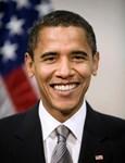 Barack Obama Smiling Portrait