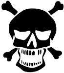 Open Jaw Skull And Bones