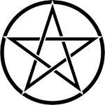 Star Pentacle Inside Circle