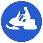 Snow Machine / Snowmobile Icon