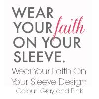 Gray and Pink Faith