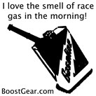 I love the Smell of Race Gas in the Morning