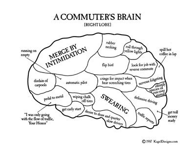 A Commuter's Brain