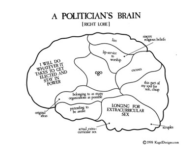 A Politician's Brain