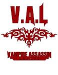 V.A.L, V.A.L Logo, Vampire Assassion League Red