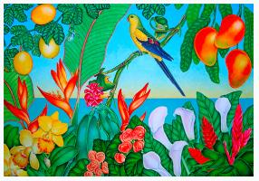 Tropical Paradise Fine Art  by Joel W. Carlson