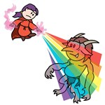 Fight Trolls with Rainbows