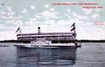 Steamer Minneapolis on Lake Minnetonka in 1910