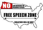 Free Speech Zone T-shirts & Gifts