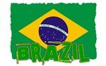 Vintage Brazil Flag