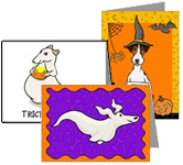 HALLOWEEN CARDS BY TERRY POND