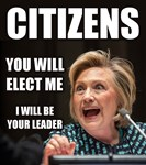 CITIZENS YOU WILL ELECT ME