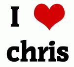 I Love chris