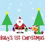Baby's First Christmas Santa
